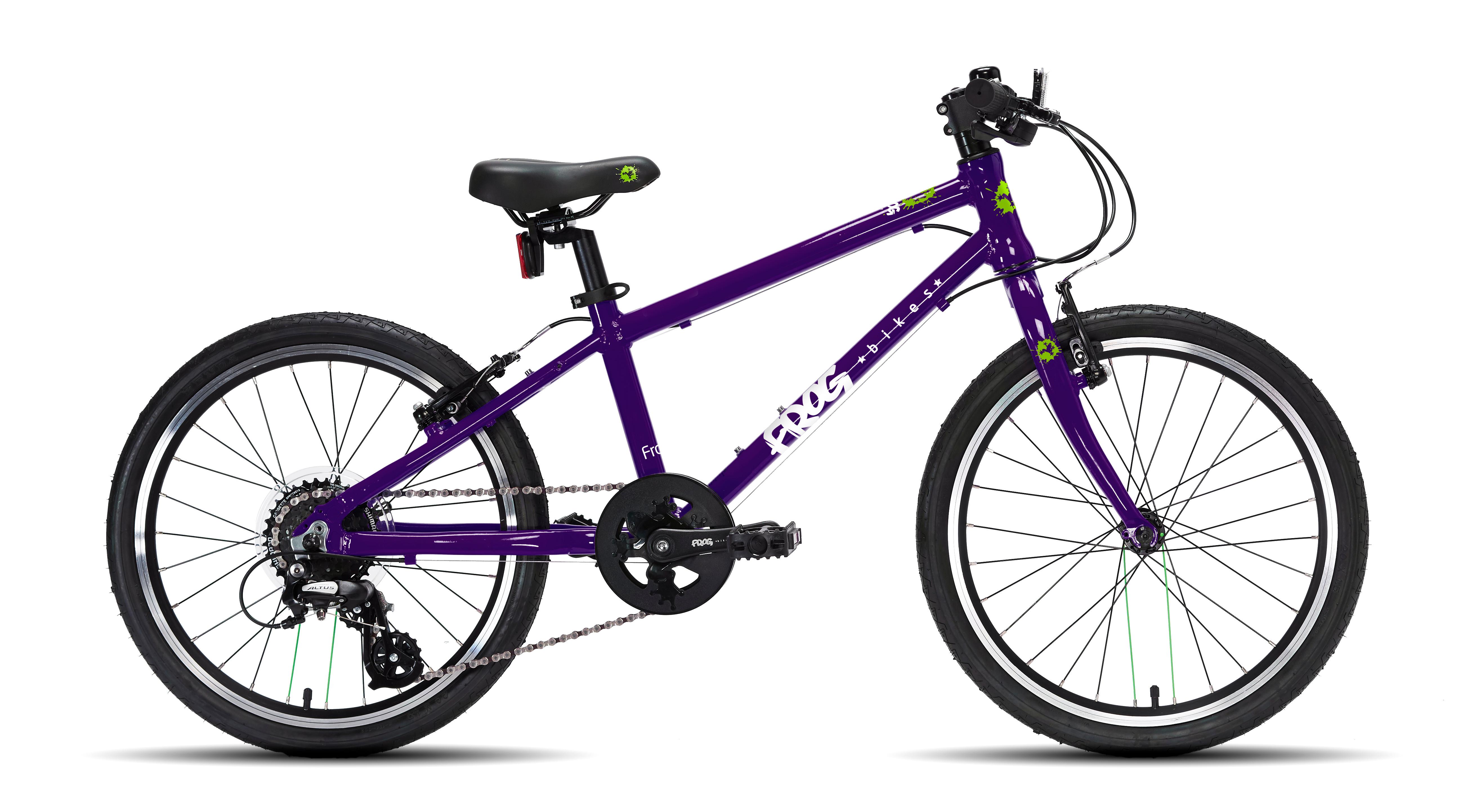 Frog 55 Kids Bike 2019 Purple