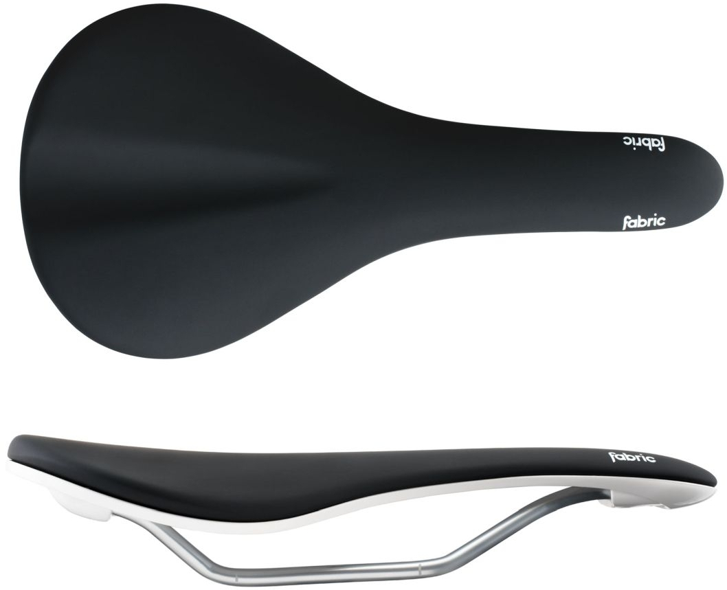 Fabric Scoop Elite Shallow Cr-Mo Rail Road Mountain Cannondale Saddle Black//Red