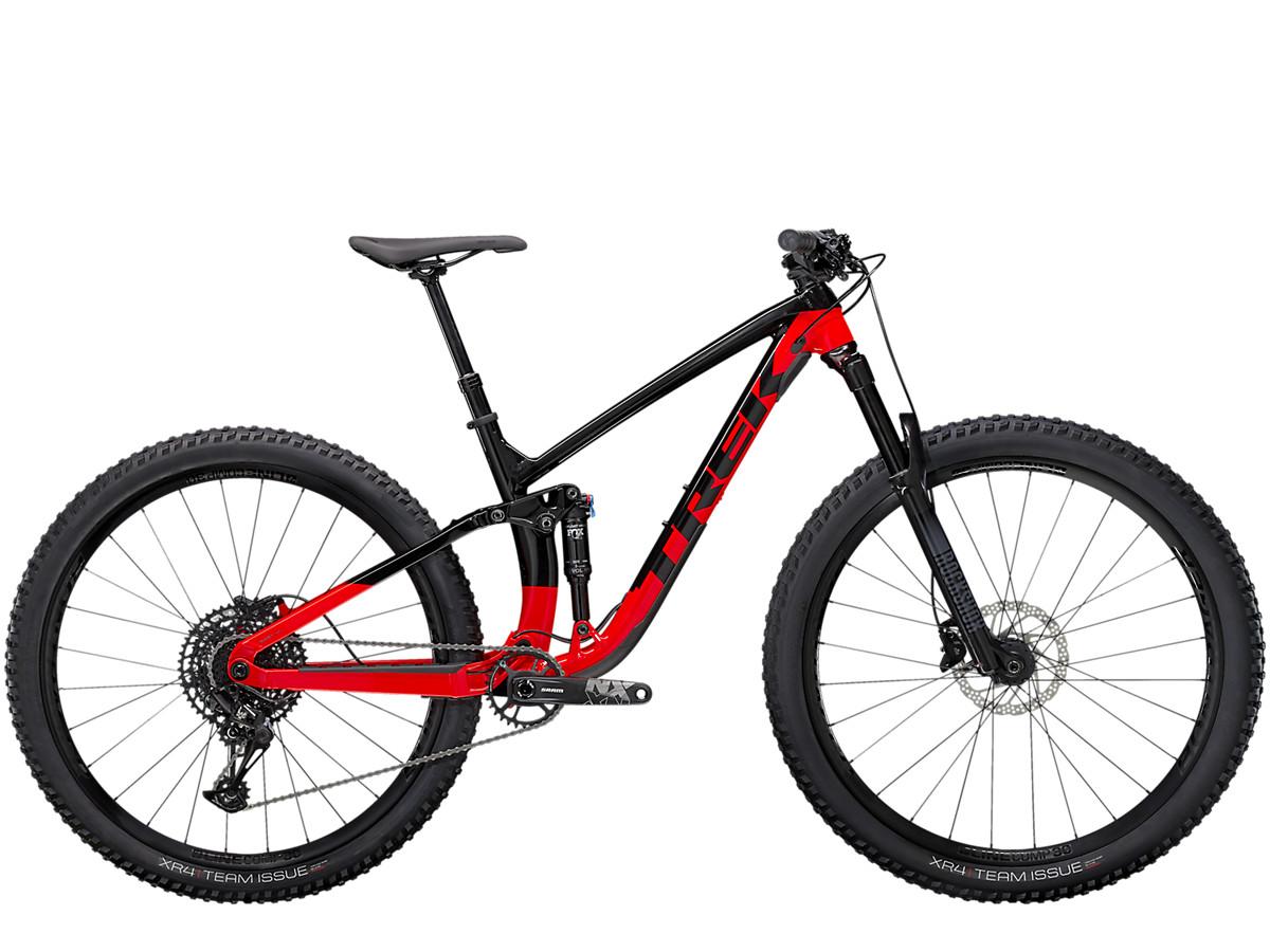 Image of Trek Fuel EX 7 SRAM NX Mountain Bike 2022 Trek Black/Radioactive Red