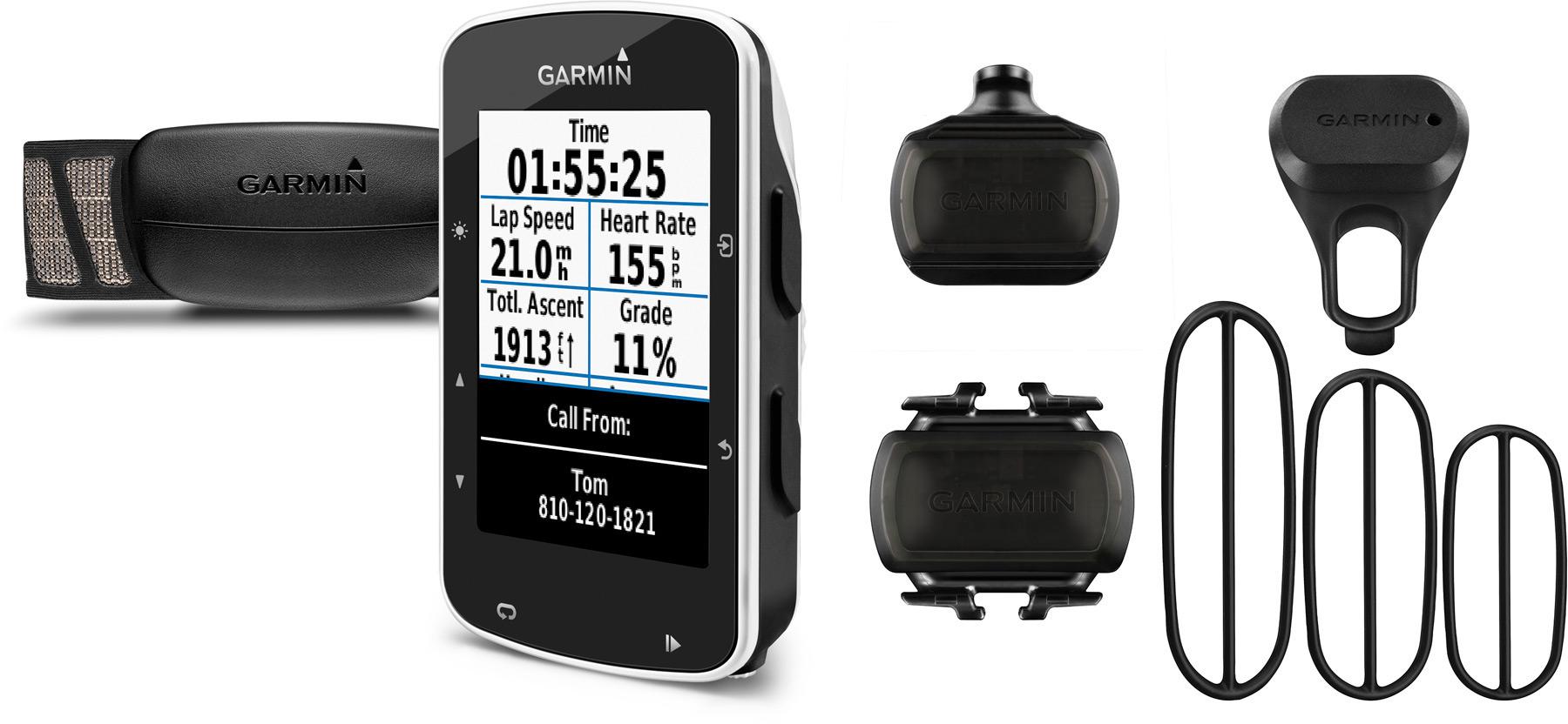 Garmin Edge 520 GPS Computer Performance Bundle Black