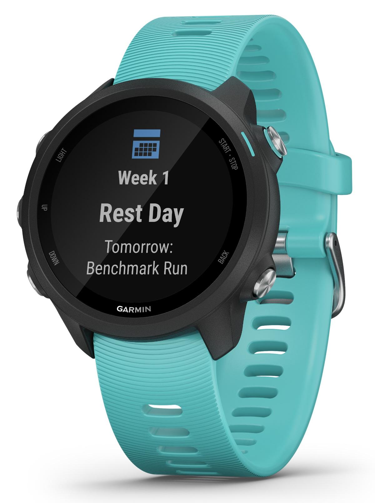 Image of Garmin Forerunner 245 Music Smartwatch Aqua