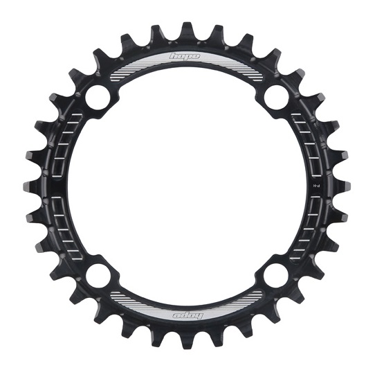 Hope Tech 3 Trail Zone Disc Brake Braided Black