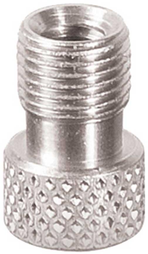 Genuine Innovations Presta Valve Adapter Silver