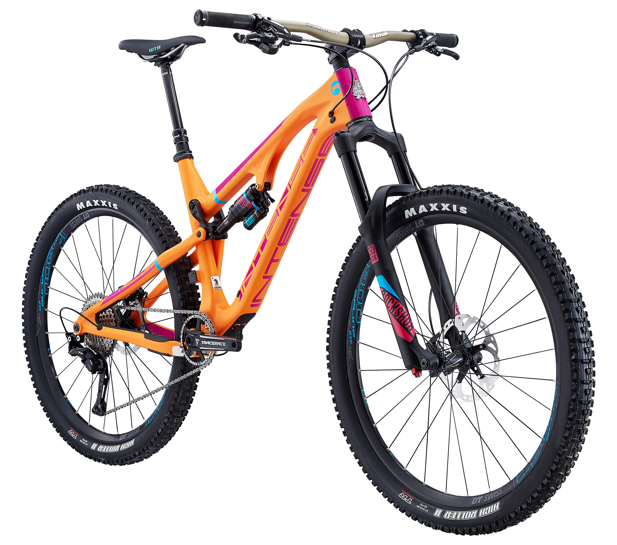 Intense Recluse Expert 27 5 Mountain Bike 2017 Orange Magenta Founded in 1993, is an innovator in the mountain bike industry with bold, striking designs, engineered to compete at the pinnacle of the sport. intense recluse expert 27 5 mountain bike 2017 orange magenta