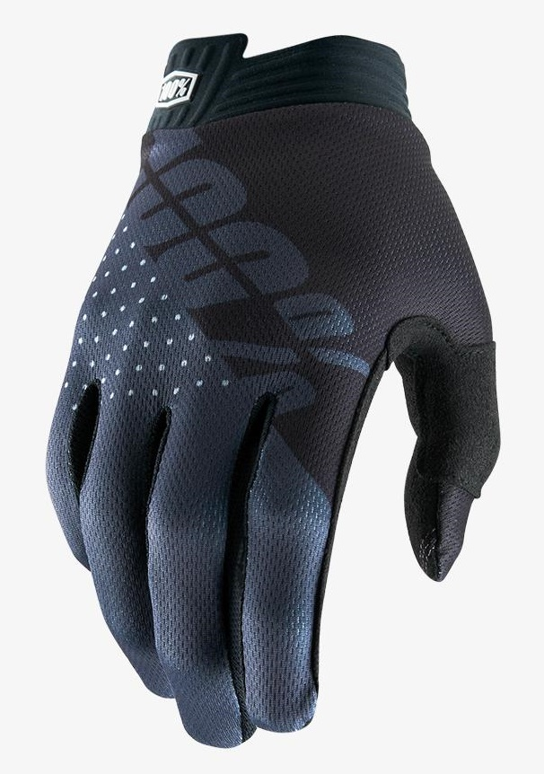 100 Percent Itrack Youth Mtb Gloves Black/charcoal