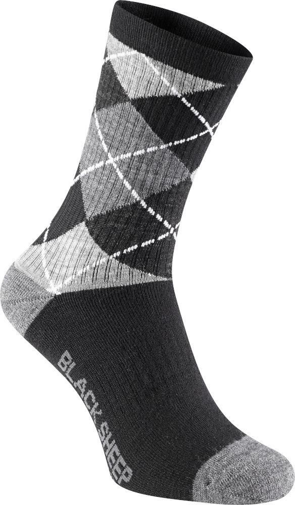 Madison Isoler Merino Wool Deep Winter Socks Argyle