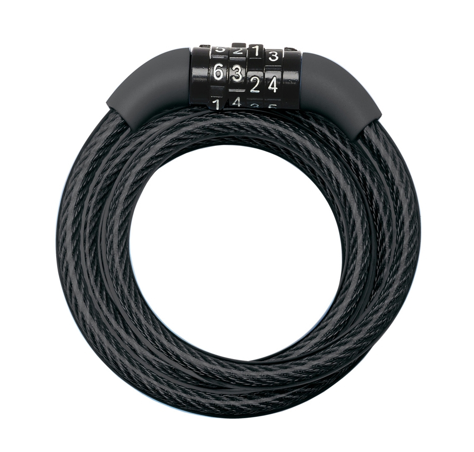 Master Lock Cable Combination Lock 8mm X 1.2m Black