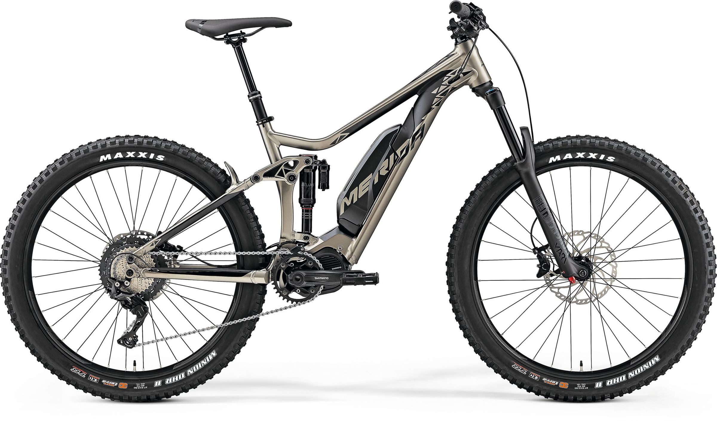 Merida eOne Sixty 800 Electric Mountain Bike 2019 Titanium