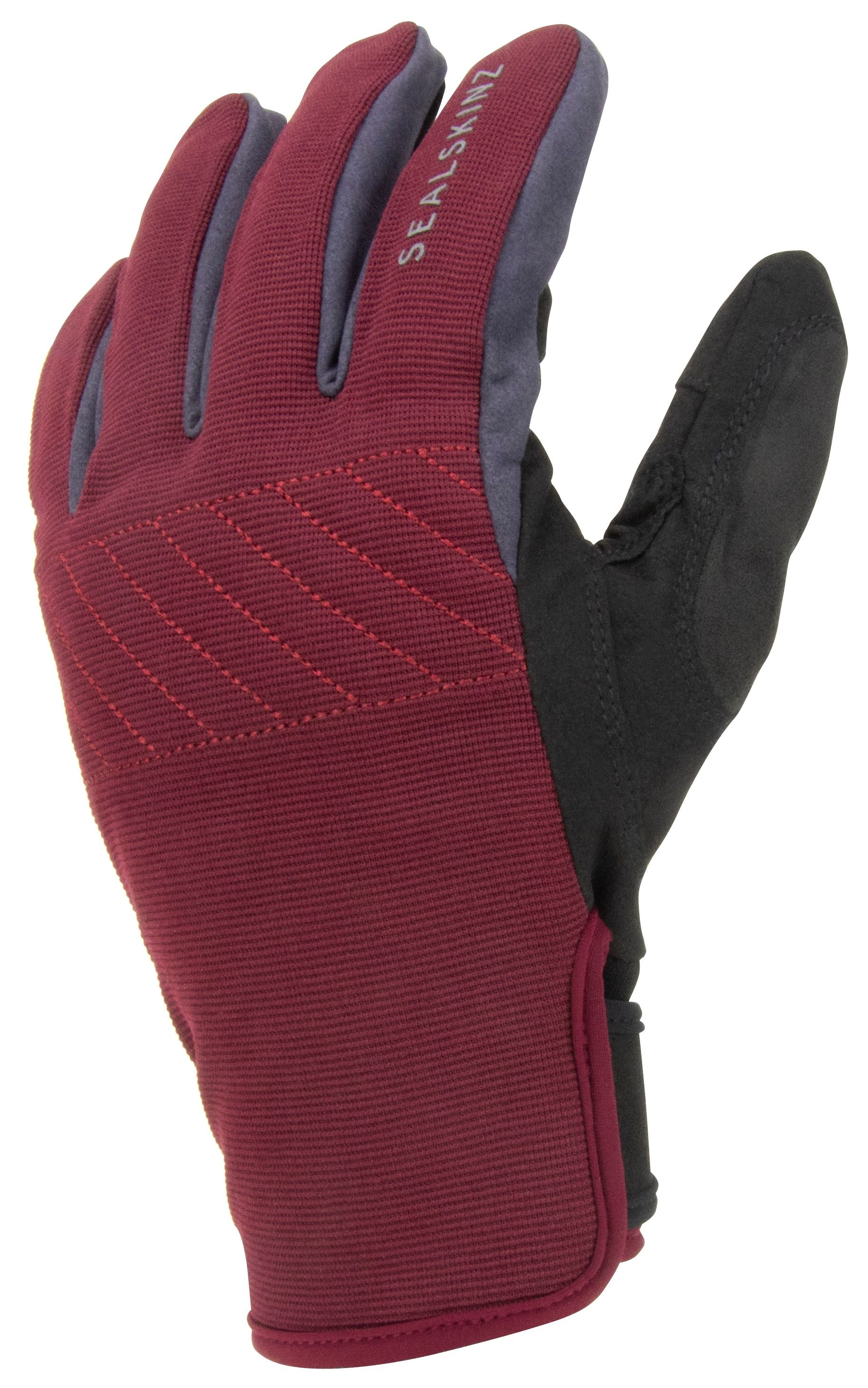 Sealskinz Waterproof All Weather Multi-activity Fusion Control Gloves Red/grey/black