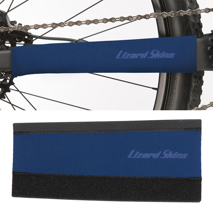 Lizard Skins Neoprene Chainstay Protector Blue