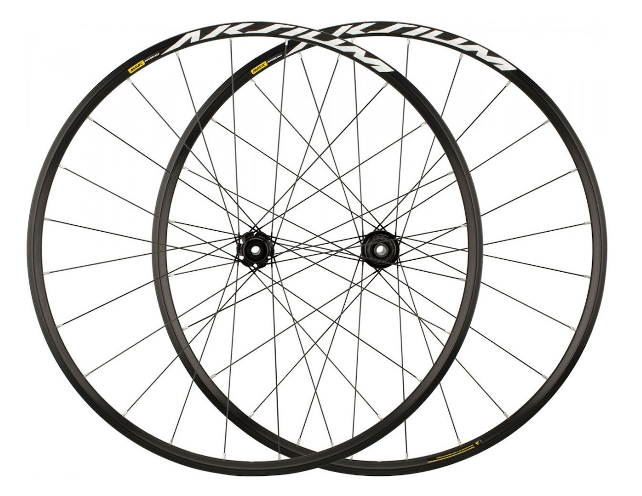 Mavic Aksium Disc Center Lock 700 Clincher 6 Bolt Wheelset Black