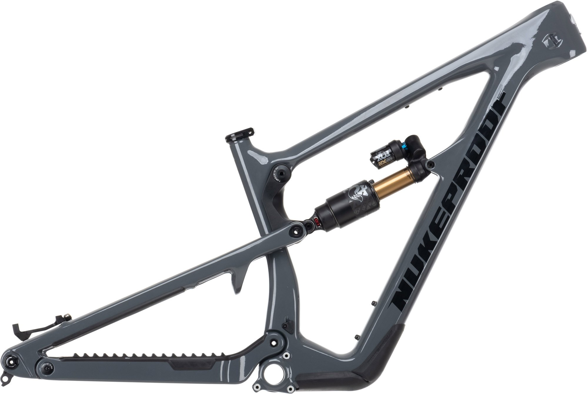 Nukeproof Mega 290 29er Carbon Mountain Bike Frame 2021 Bullet Grey