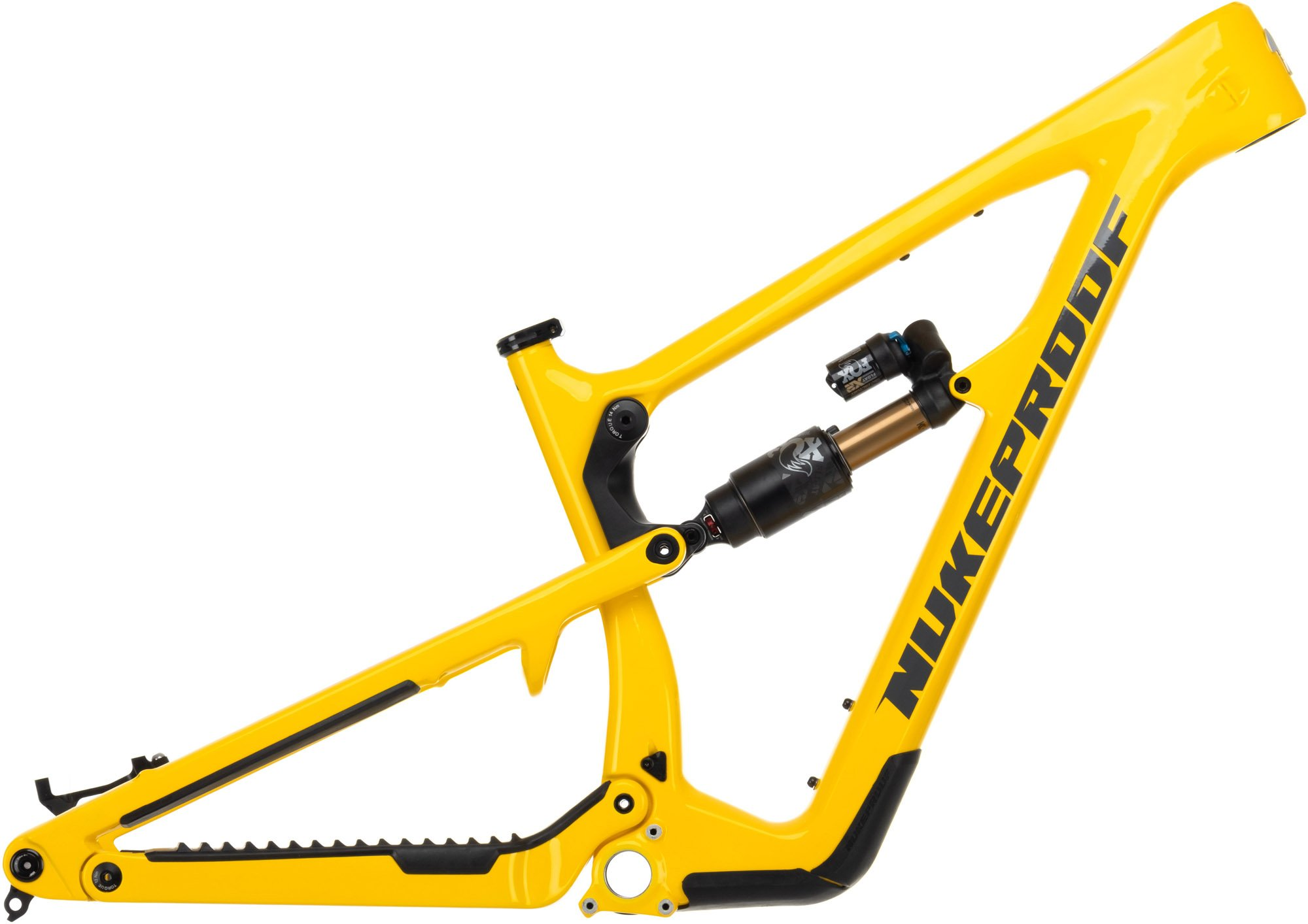 Nukeproof Mega 290 29er Carbon Mountain Bike Frame 2021 Yellow