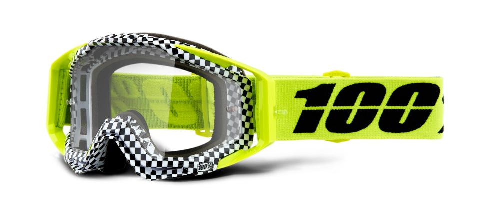 100 Percent Racecraft Goggles Bakken/clear Lens