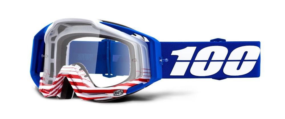 100 Percent Racecraft Goggles Cobalt Blue/blue Mirrored Lens