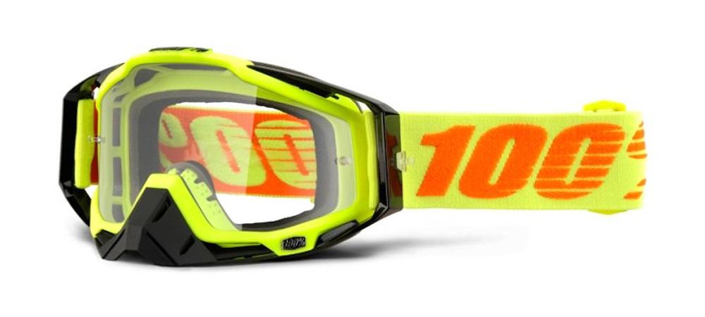 100 Percent Racecraft Goggles Ergoflash/clear Lens