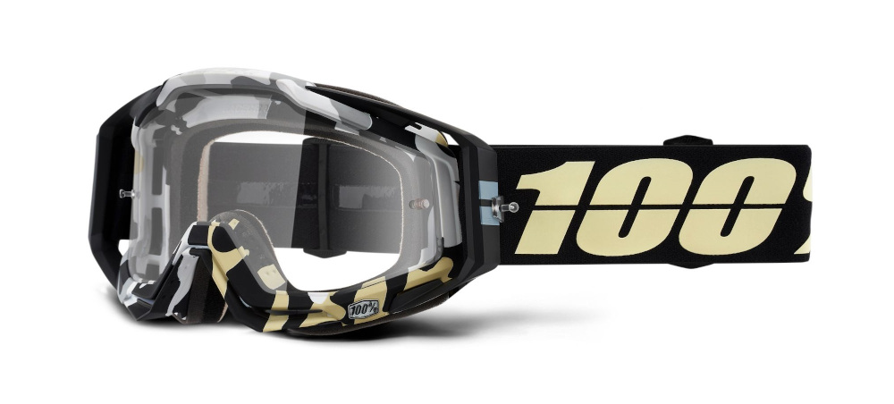 100 Percent Racecraft Goggles Klepto/pink Mirrored Lens