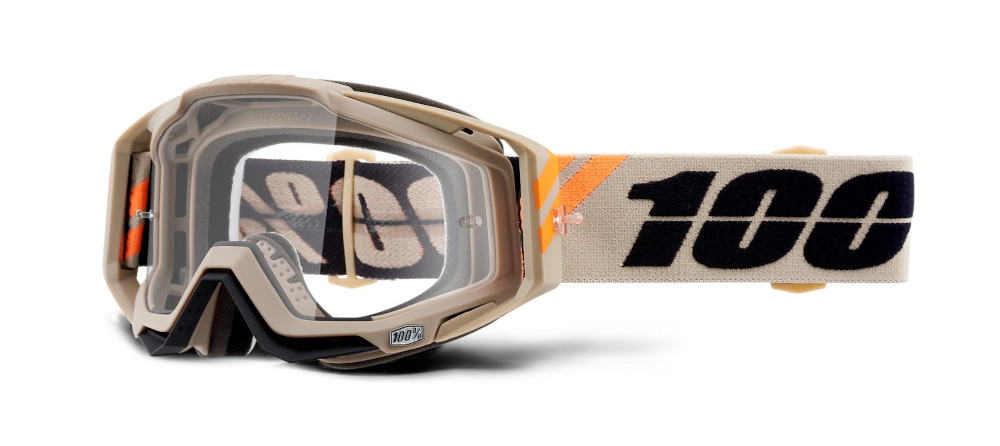 100 Percent Racecraft Goggles Poliet/clear Lens