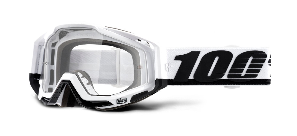 100 Percent Racecraft Goggles Stuu/clear Lens