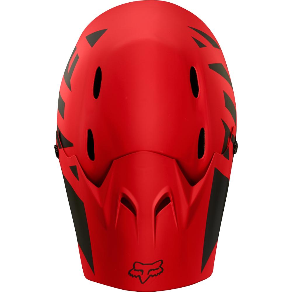 XL FOX Rampage Landi Full Face Downhill MTB Helmet L Bright Red