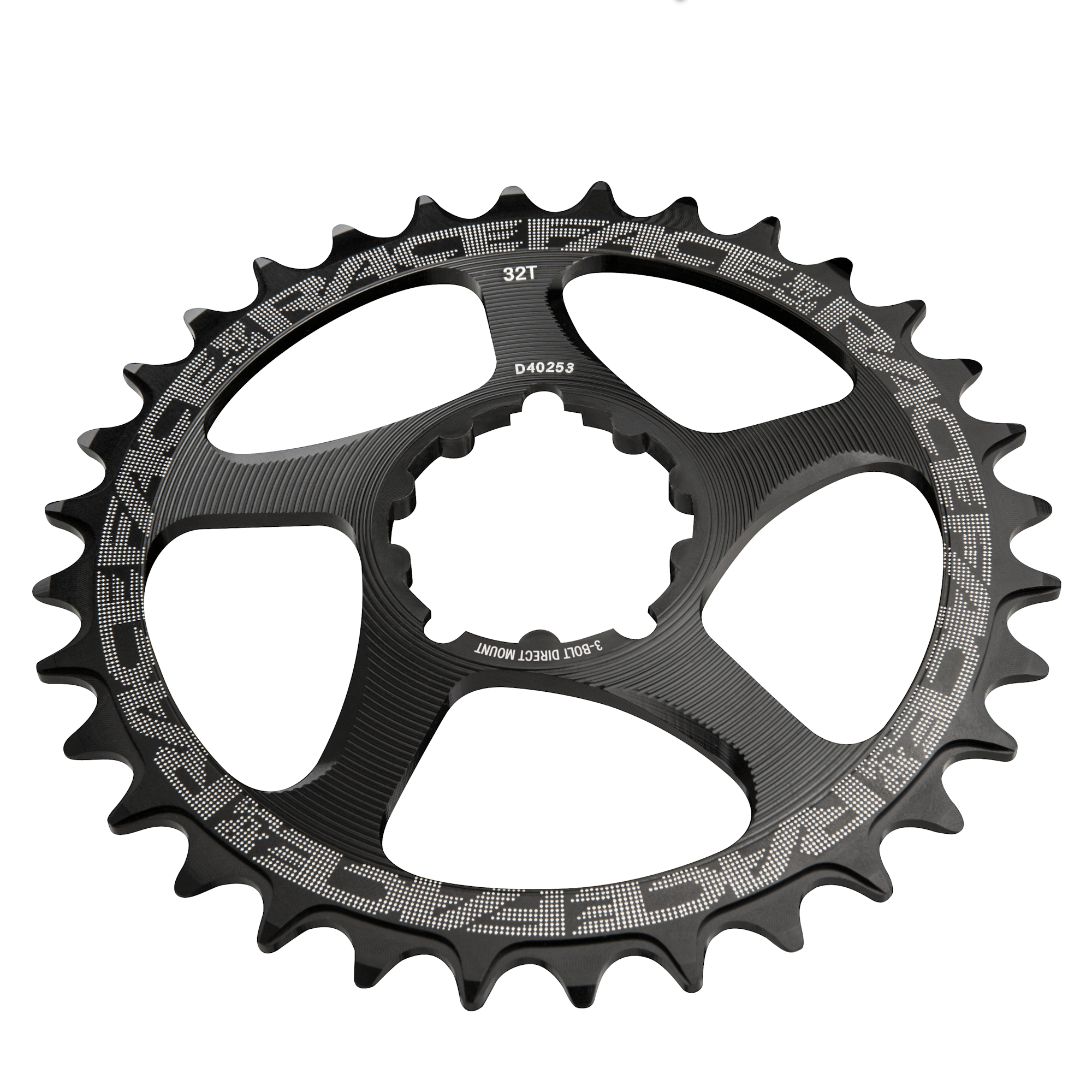 Race Face Direct Mount 3 Bolt Chainring Black