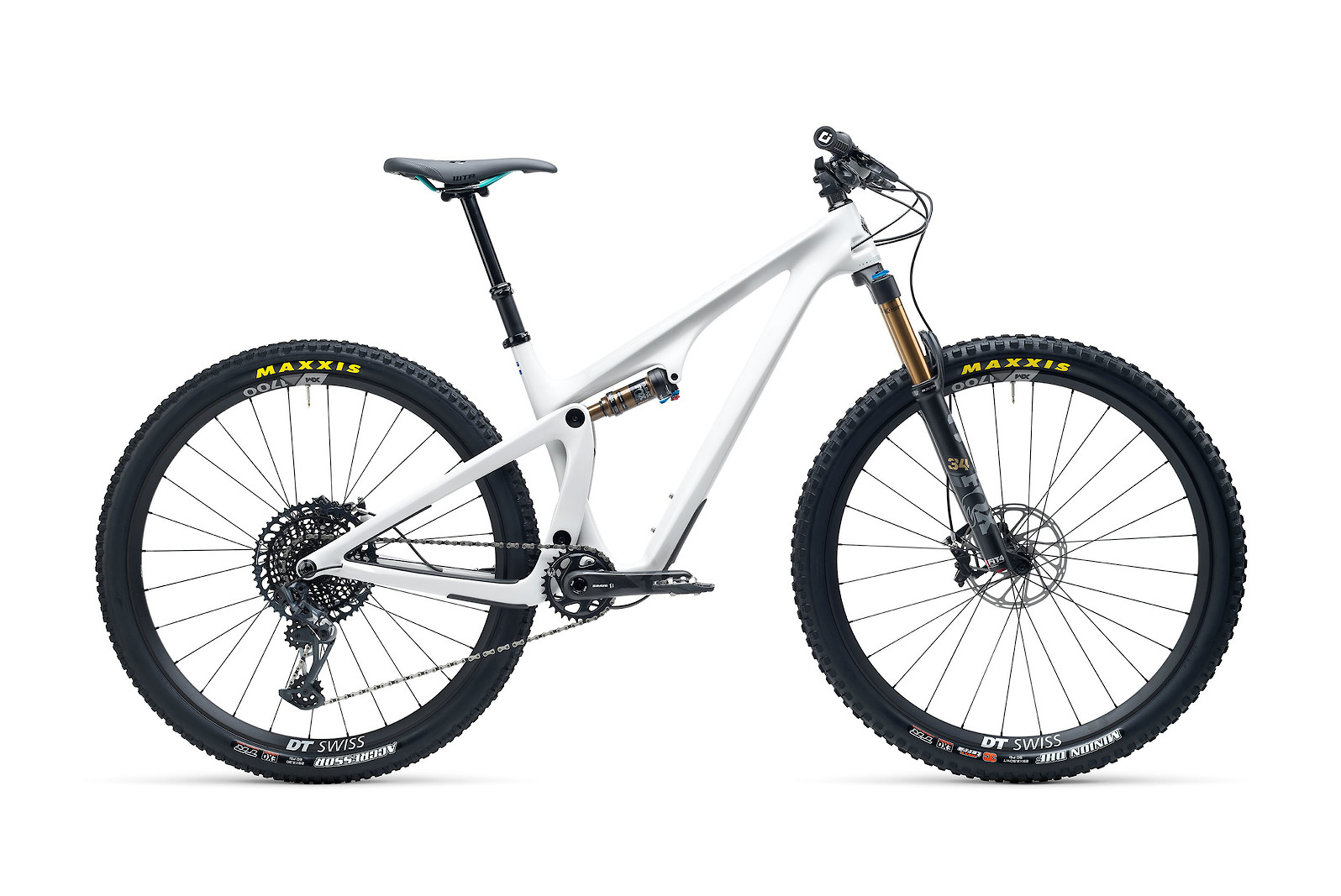 Yeti SB115 T-Series T2 29er Mountain Bike 2021 Blanco