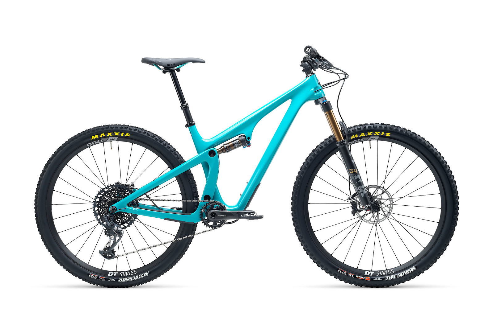 Yeti SB115 T-Series T2 29er Mountain Bike 2021 Turquoise
