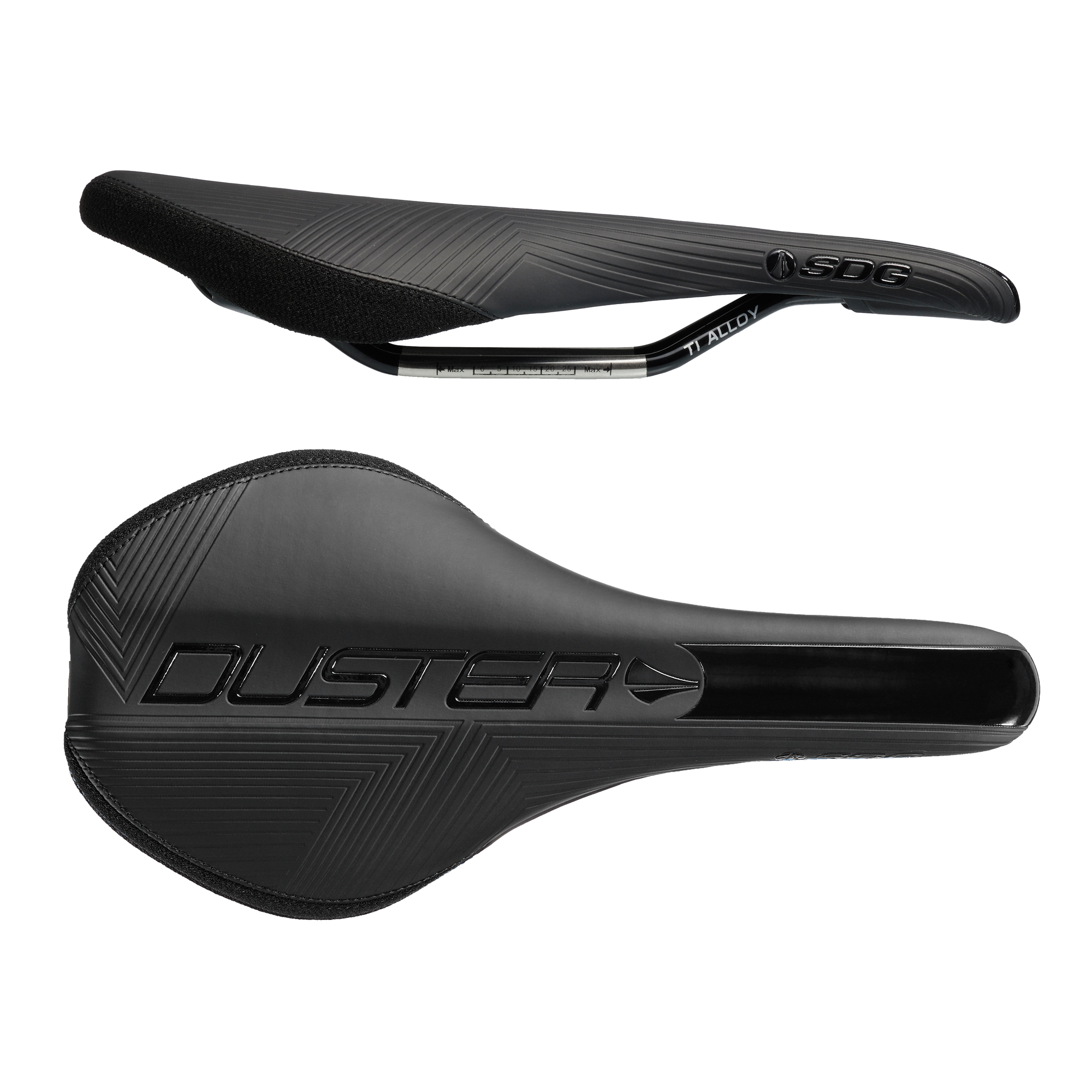 Sdg Duster Mtn Ti Rail Saddle Black