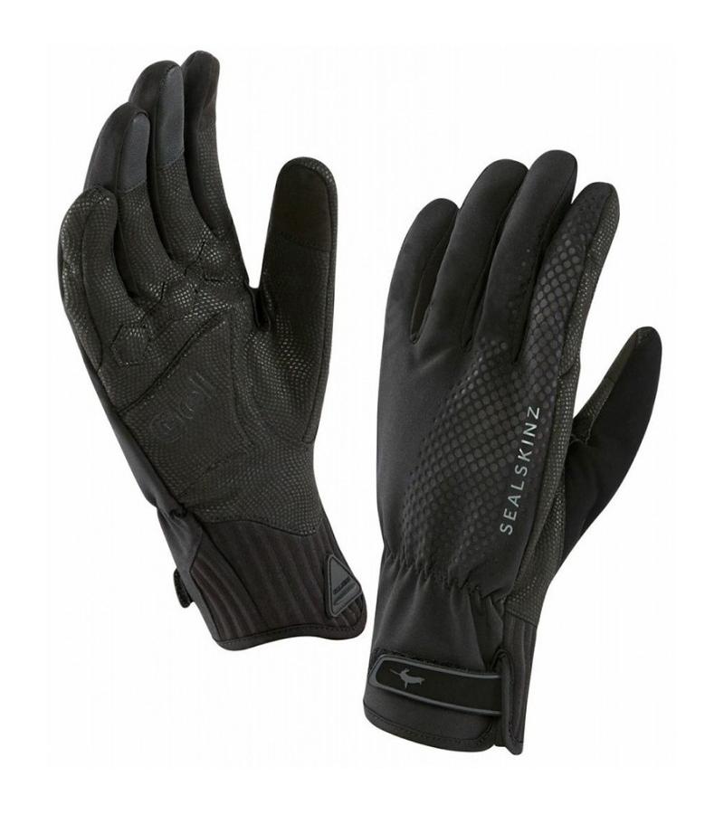 Black//Red SEALSKINZ Unisex Waterproof All Weather Mtb Glove XL