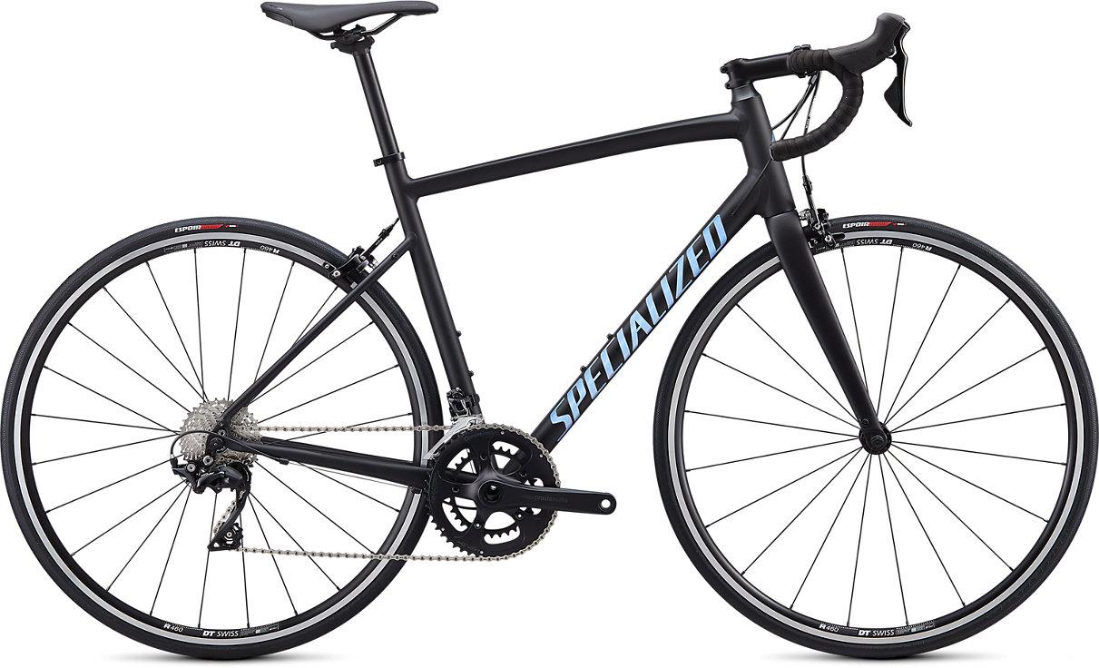 Specialized Allez E5 Alloy Elite Road Bike 2021 Black/Blue/Clean