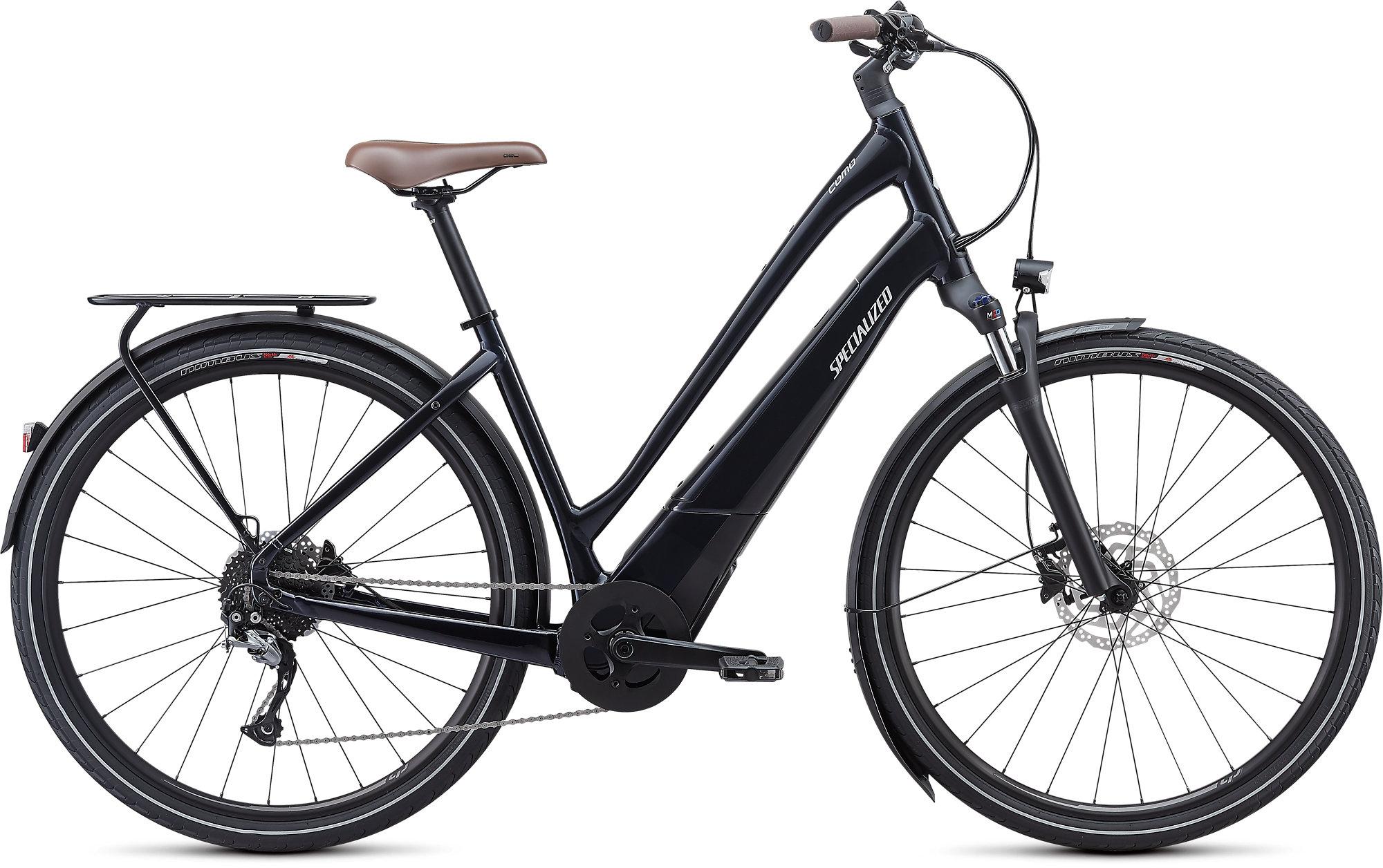 Specialized Turbo Como 3.0 Low Entry Electric Bike 2021 BLk/Grey/Blu