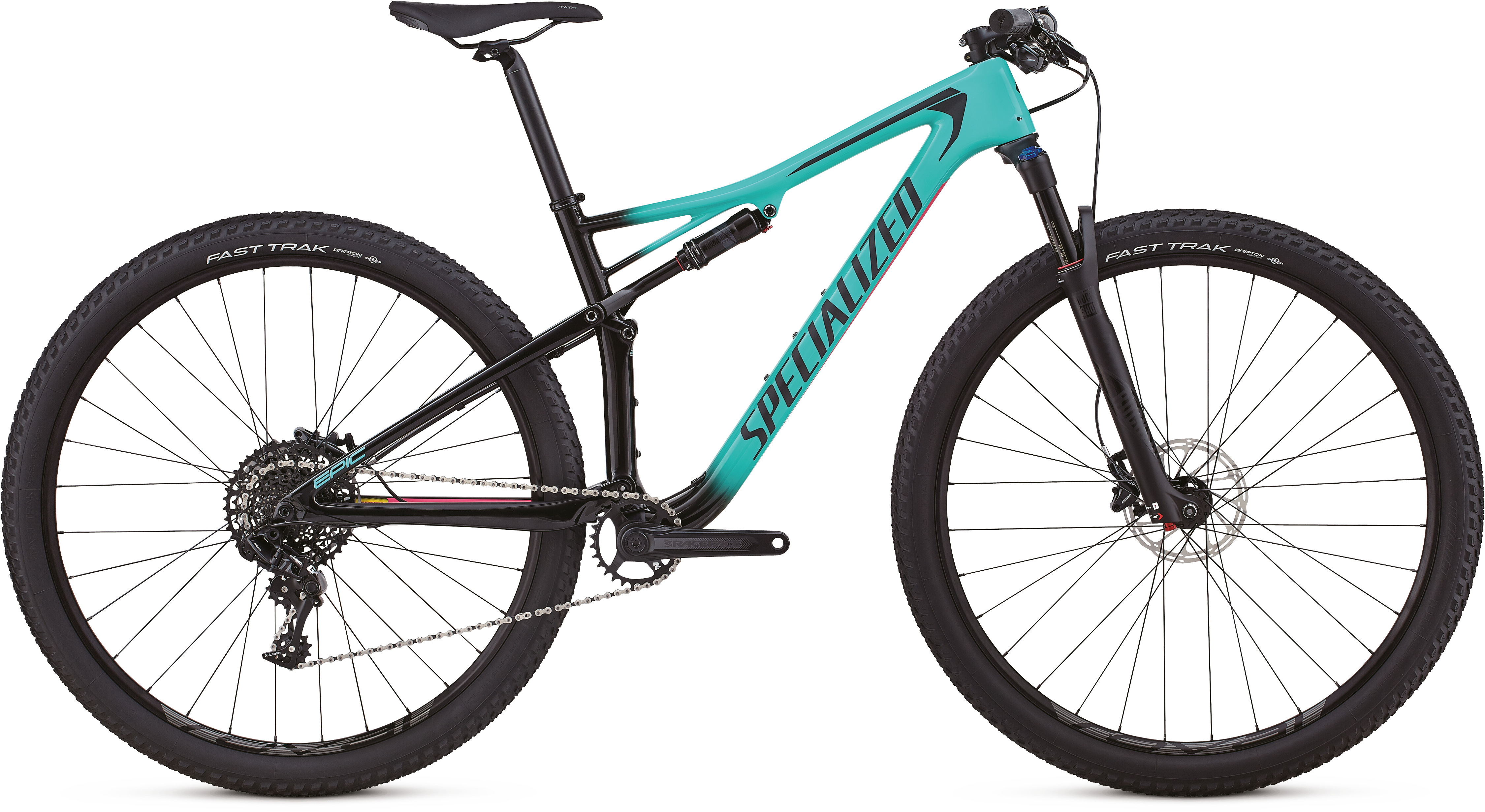 Specialized Epic Comp Carbon Womens 29er Mountain Bike 2018 Mint