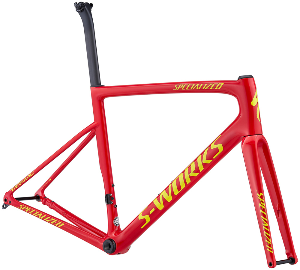 Specialized S-Works Tarmac SL6 Disc Road Bike Fluo Red/Bright Yellow