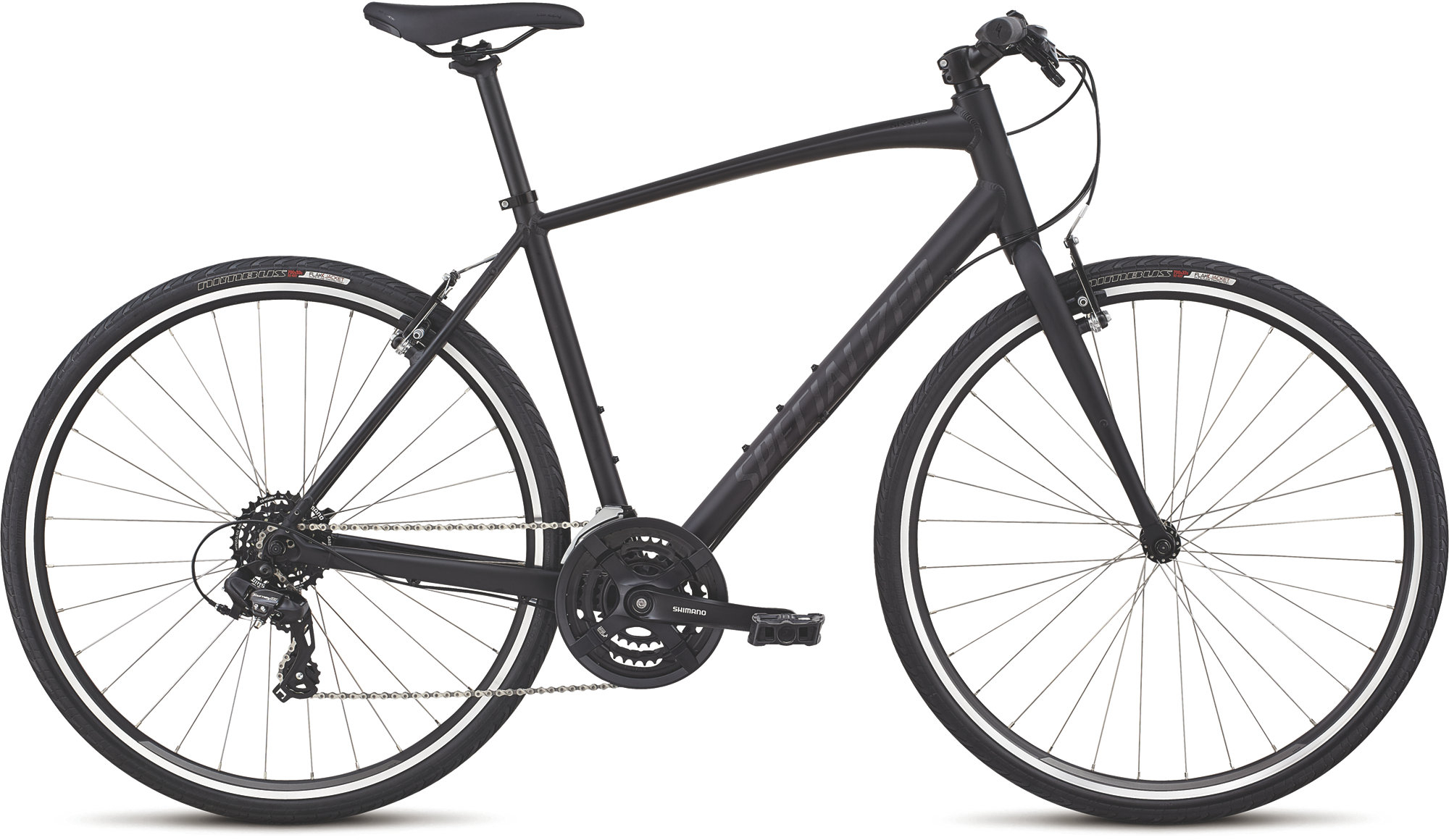 Hybrid and City Bike Deal  Specialized Sirrus Alloy Hybrid Bike 2020 Black