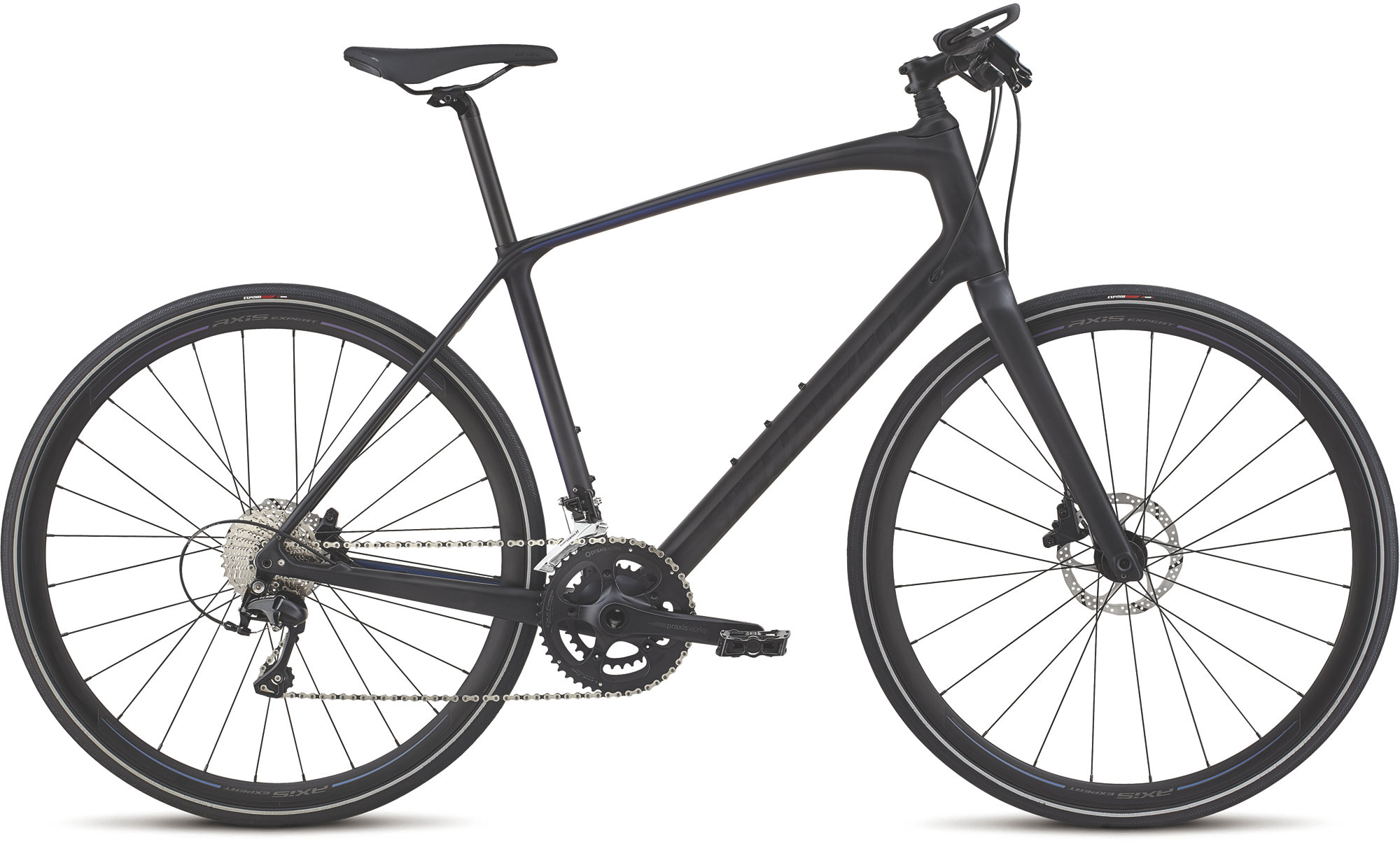 Hybrid and City Bike Deal  Specialized Sirrus Expert Carbon Hybrid Bike 2020 Graphite