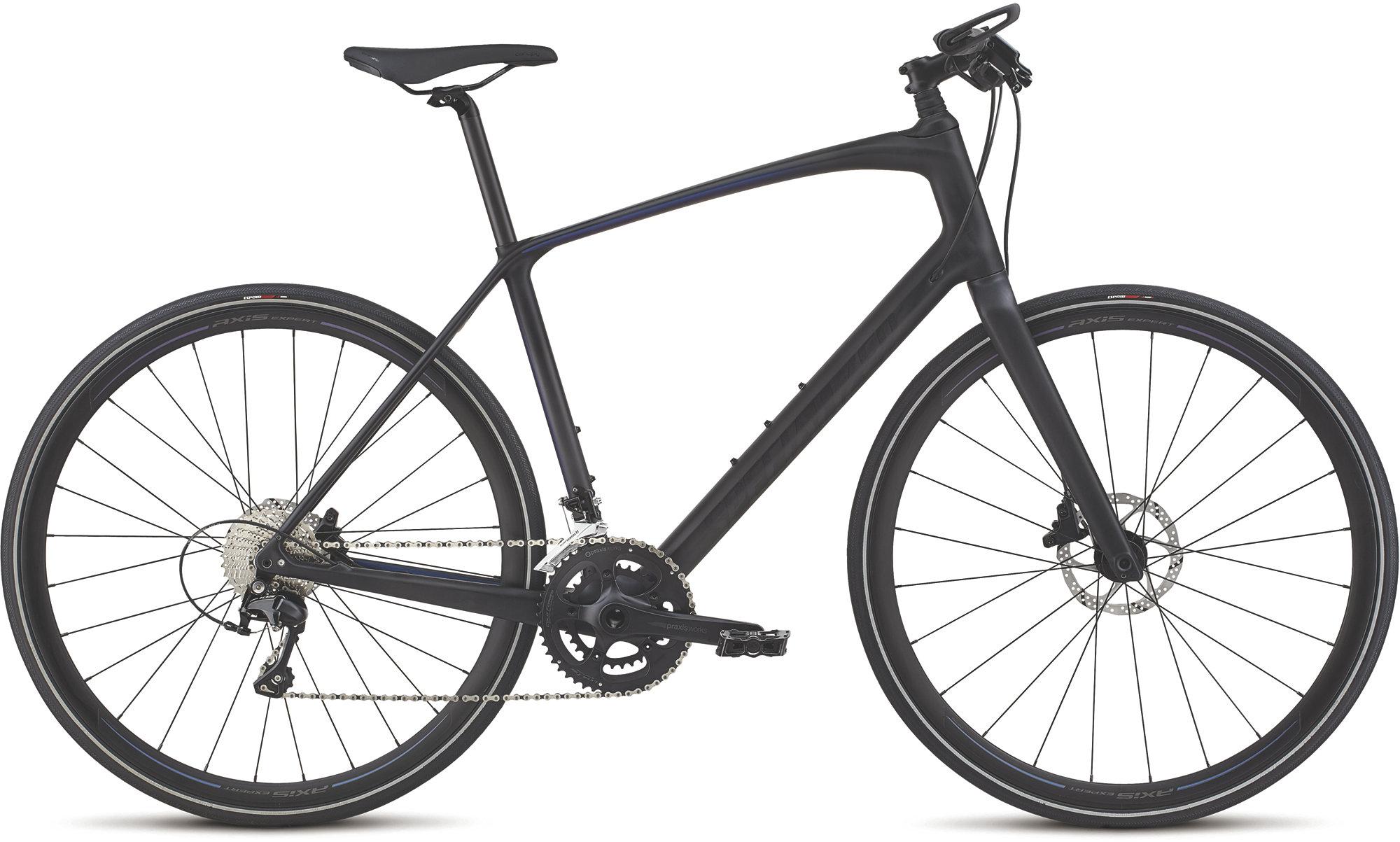 Specialized Sirrus Expert Carbon Hybrid Bike 2020 Graphite