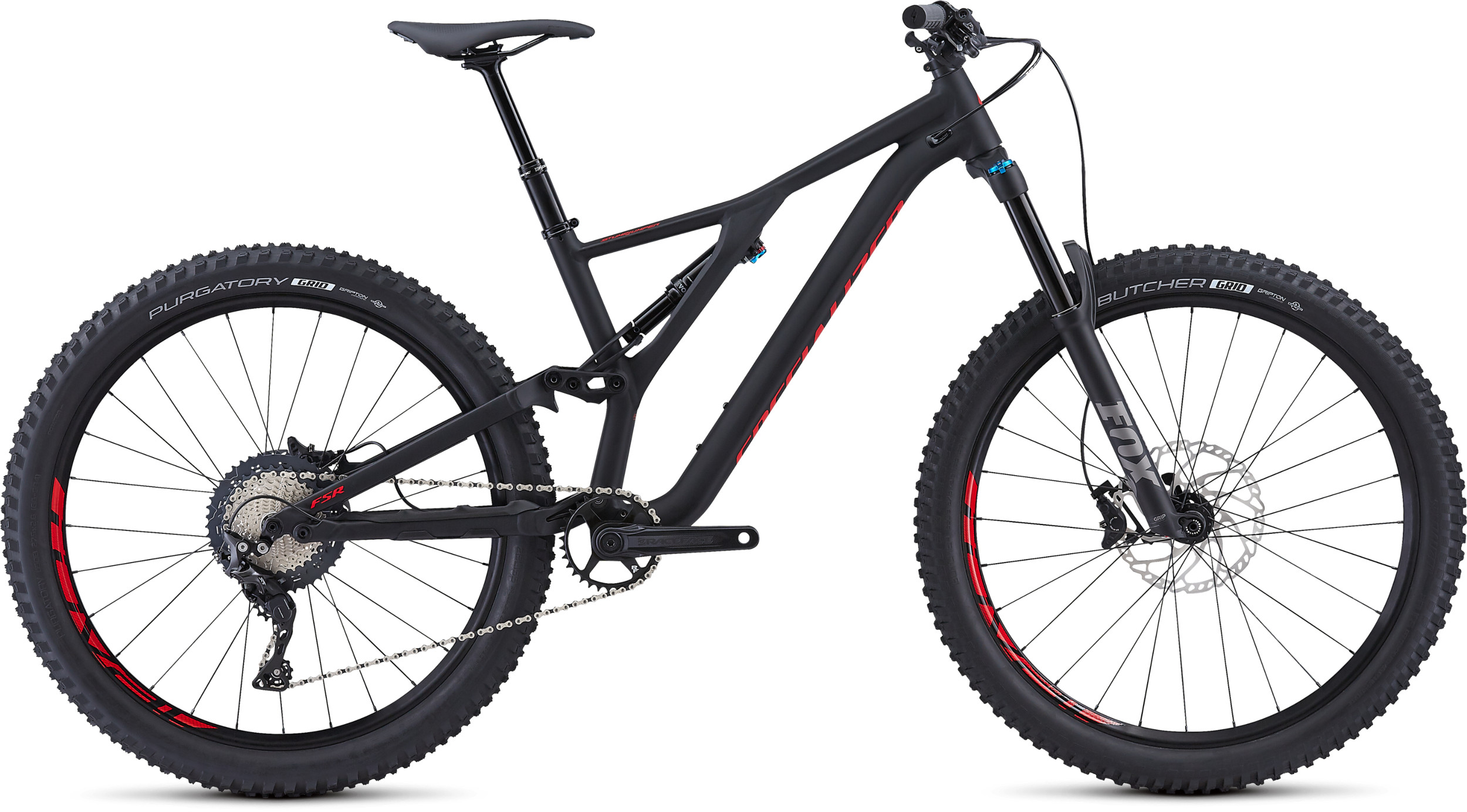 3270c0a910b Specialized Stumpjumper Comp Alloy 27.5 Mountain Bike 2019 Black/Red  £2,249.99