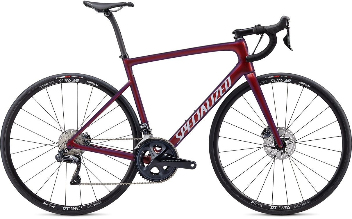 Specialized Tarmac SL6 Comp Disc Di2 Road Bike 2020 Cast Berry/crimson