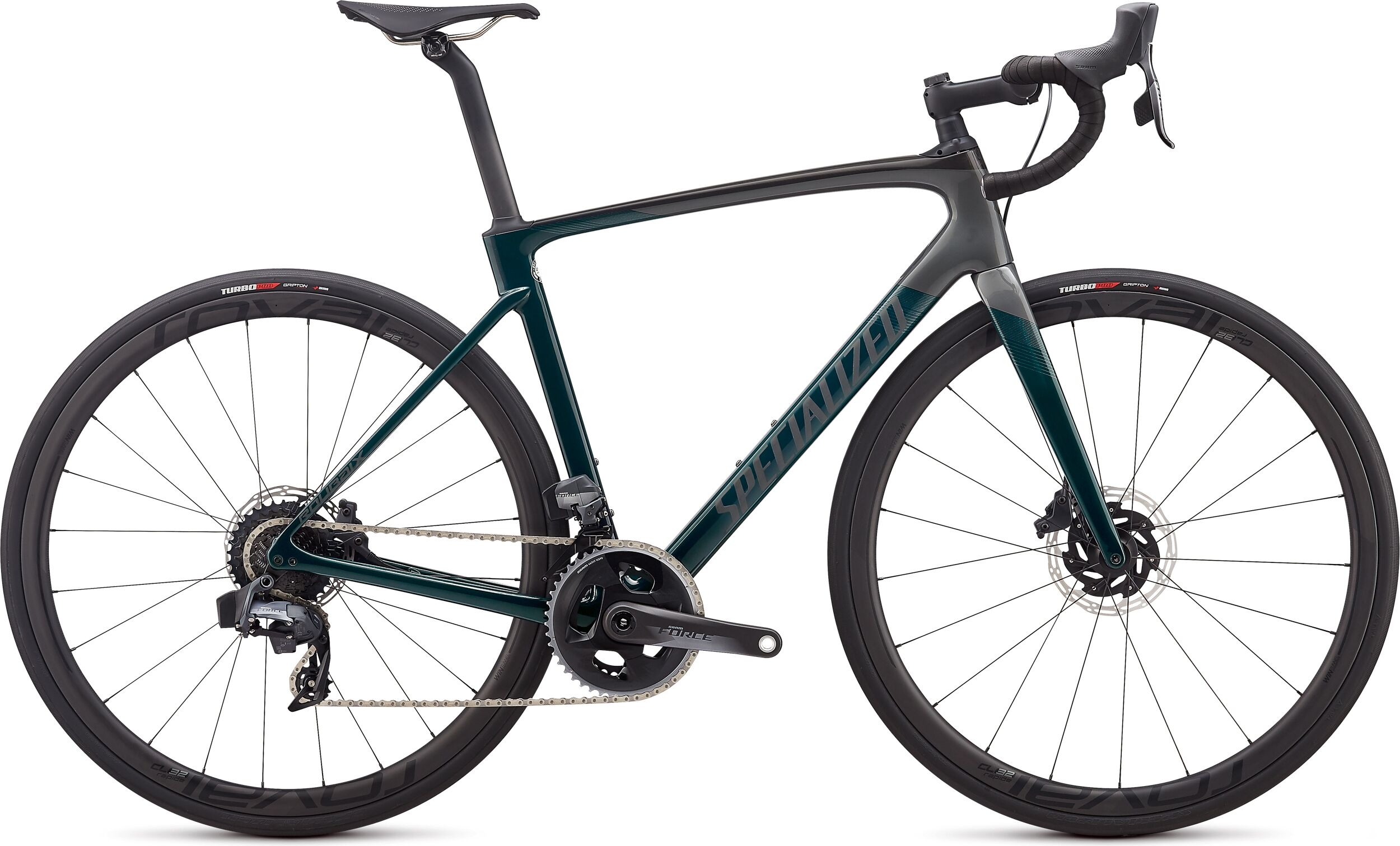 Specialized Roubaix Pro eTap AXS Road Bike 2020 Teal Tint/Charcoal