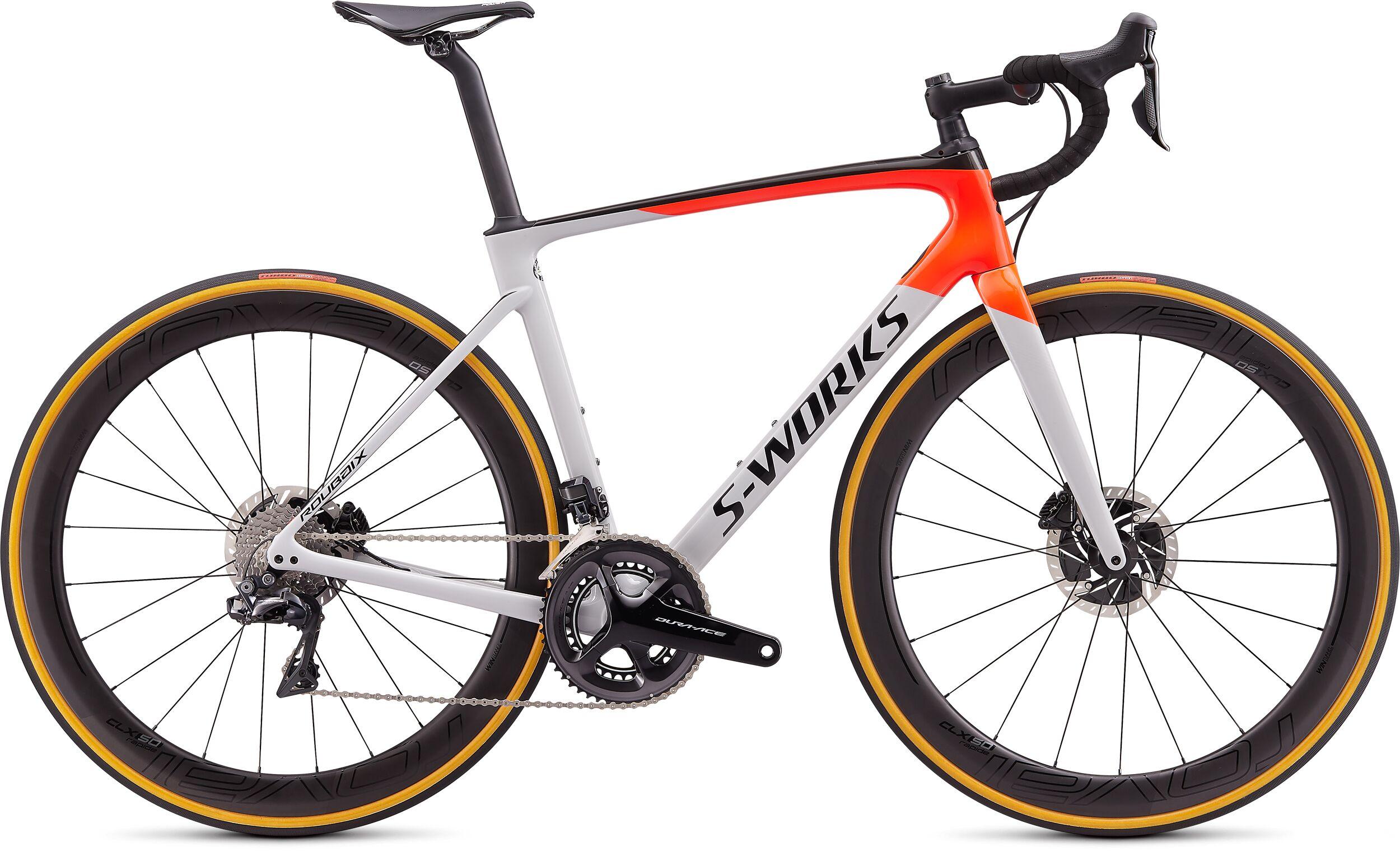 Specialized SWorks Roubaix Dura-Ace DI2 Road Bike 2020 Dove Gray/Red