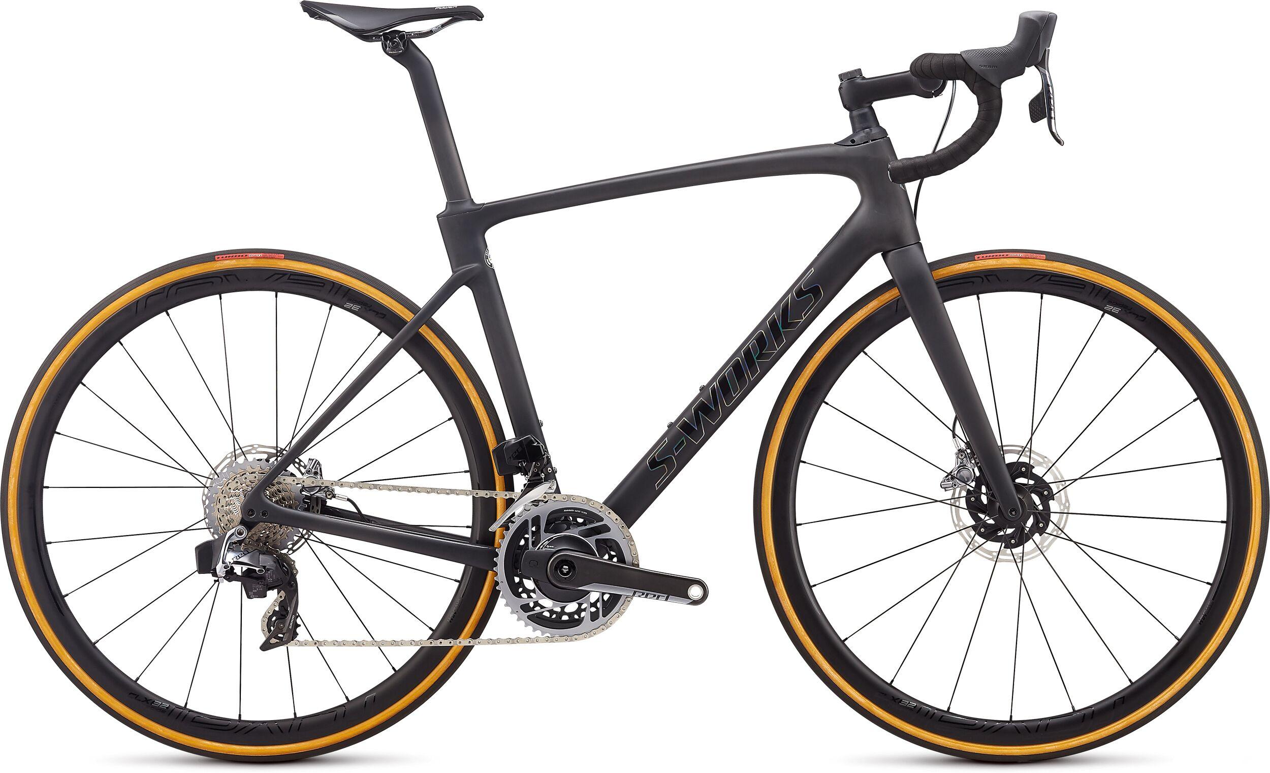 Specialized SWorks Roubaix SRAM eTap AXS Road Bike 2020 Tarmac/Crystal