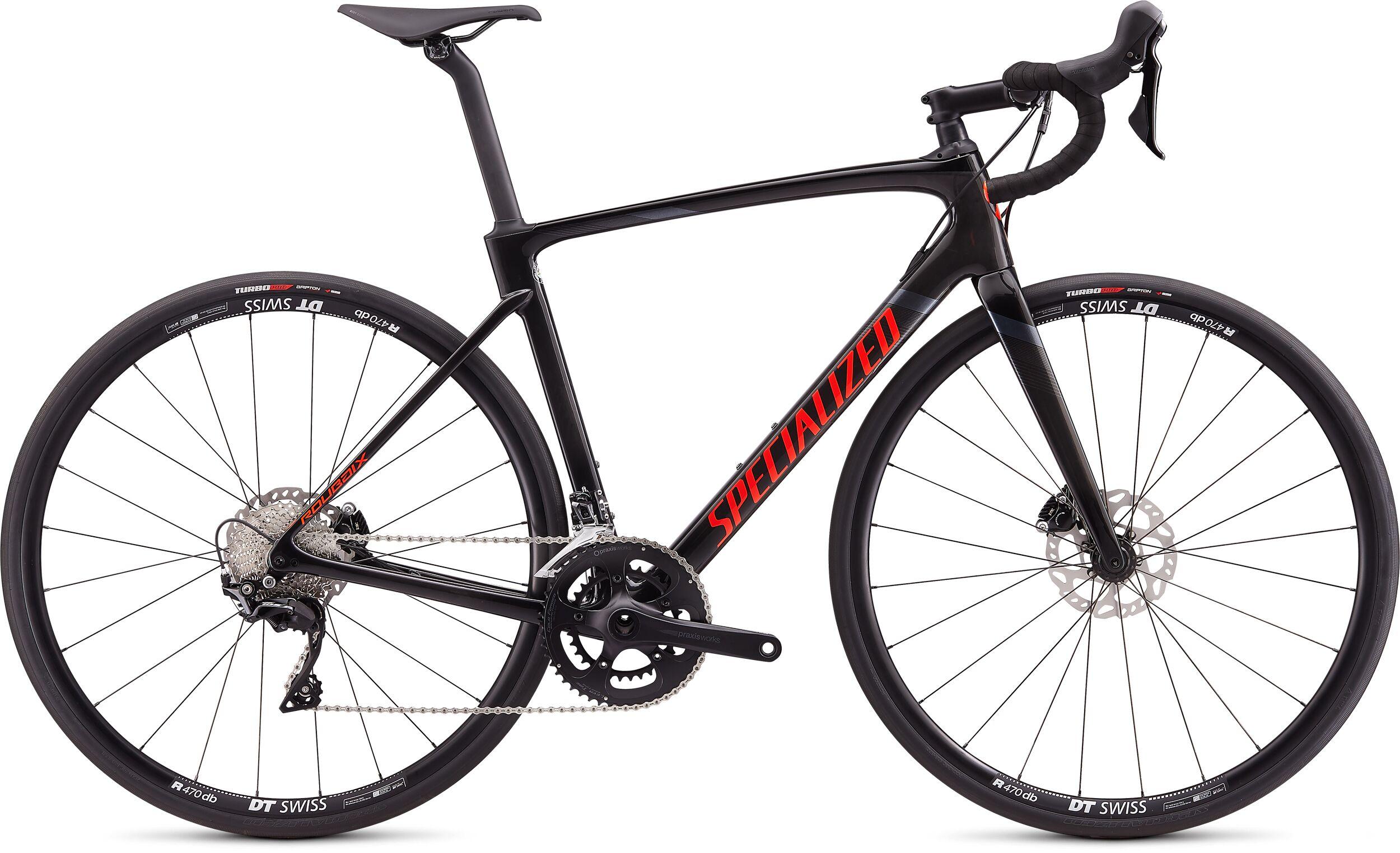 Specialized Roubaix Sport Road Bike 2020 Carbon/Rocket Red