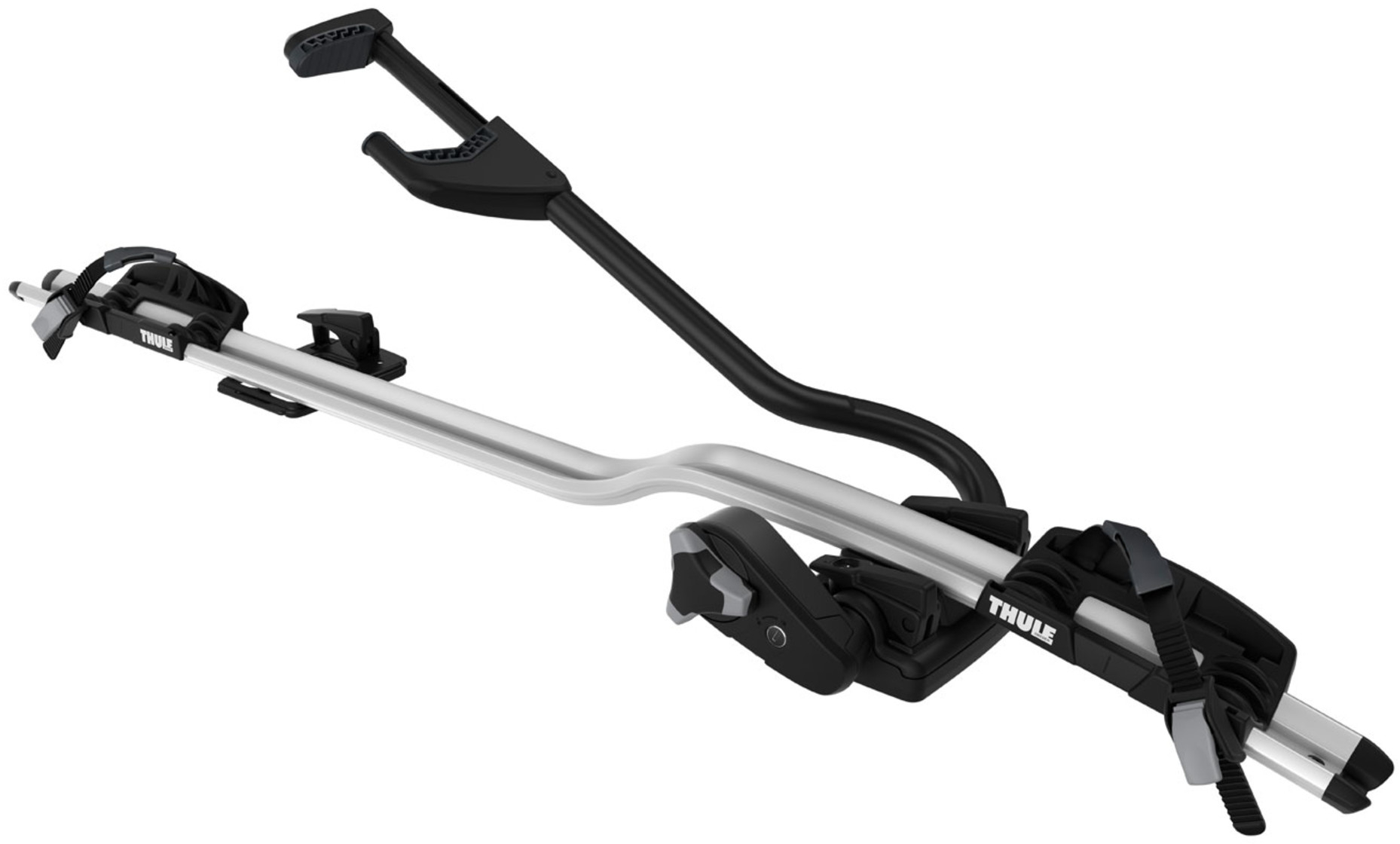 Thule Proride 598 Roof Mount Cycle Carrier Silver