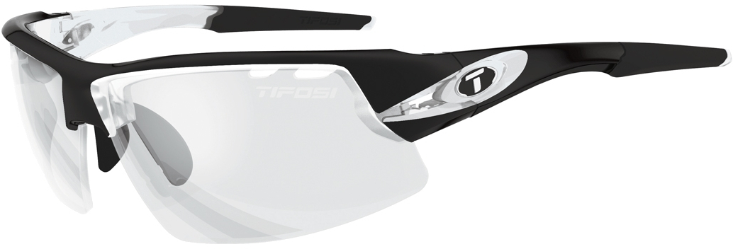 Tifosi Crit Sunglasses With Light Night Fototec Lens Crystal Black
