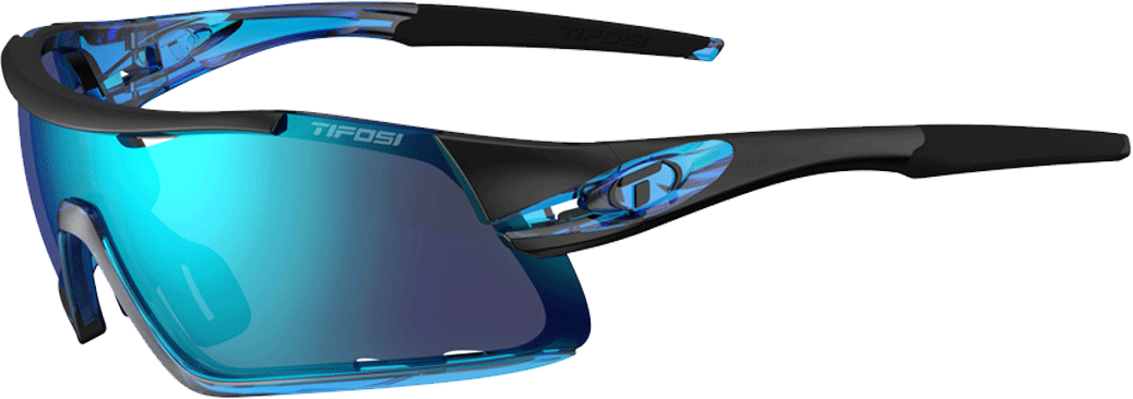 Tifosi Davos Interchangeable Clarion Lens Sunglasses Blue