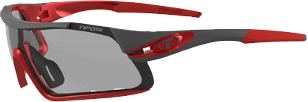 Tifosi Davos Race Sunglasses Fototec Lens Black/red