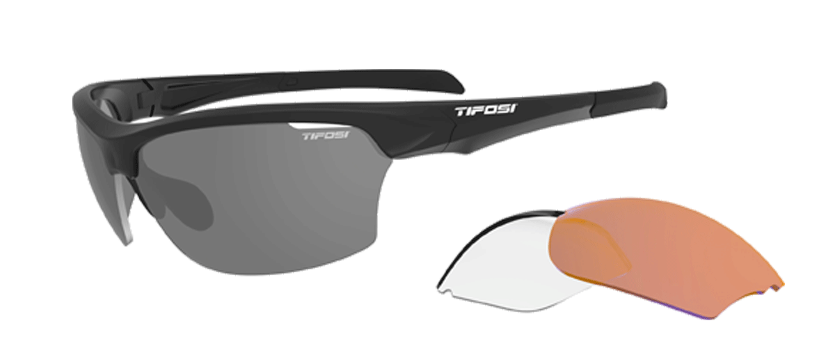 Tifosi Intense Interchangeable Sunglasses Matte Black