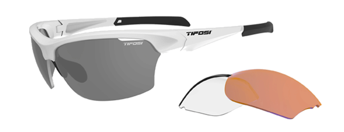 Tifosi Intense Interchangeable Sunglasses Matte White