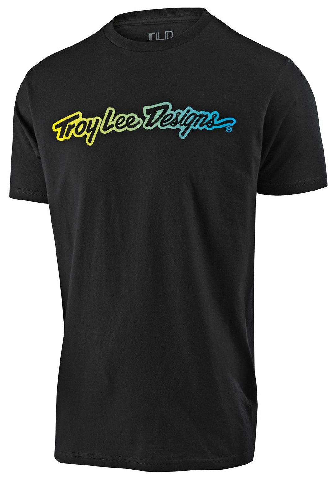 Troy Lee Designs Signature Youth Ss Tee Black