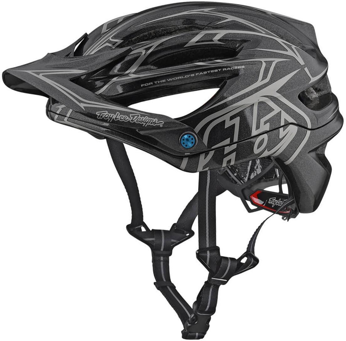 751e84cb26456 Troy Lee Designs A2 Mips Helmet Pinstripe II Grey £150.00